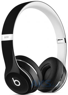 Наушники (гарнитура) Beats Solo2 On-Ear Headphones Luxe Edition Black