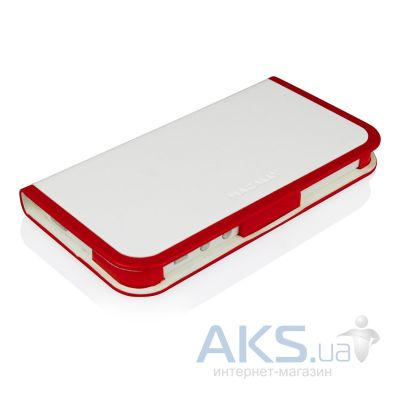 Чехол Macally Slim Folio Case and Stand for iPhone 5 Red-White (SCASER-P5)