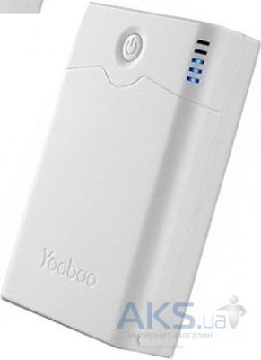 Внешний аккумулятор Yoobao Power Bank 7800 mAh Sunrise YB-633, [PBYB633-WT] White