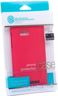 Чехол Nillkin Super Frosted Shield HTC Desire 400 Red