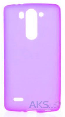 Чехол Original Silicon Case Matte LG Optimus G3s D724 Violet