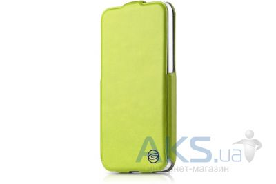 Чехол ITSkins Plume Precious for iPhone 5C Green/Black (APNP-FETHR-GRBK)