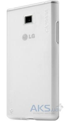 Чехол Capdase Soft Jacket Xpose Tinted for LG Optimus L3 E400 White (SJLGE400-P202)