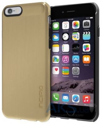 Чехол Incipio Feather SHINE for iPhone 6 Plus Gold (IPH-1194-GLD)