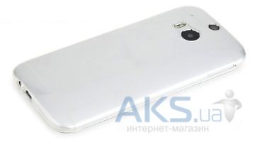 Чехол Rock Ultra Thin Slim Jacket HTC One M8 Transparent