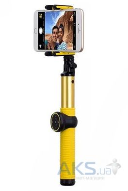 Монопод Momax Selfie Hero 100cm Gold/Yellow  (KMS7L)