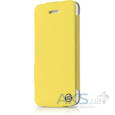Чехол ITSkins Plume Artificial for iPhone 5C Yellow/Black (APNP-PLUME-YLBK)