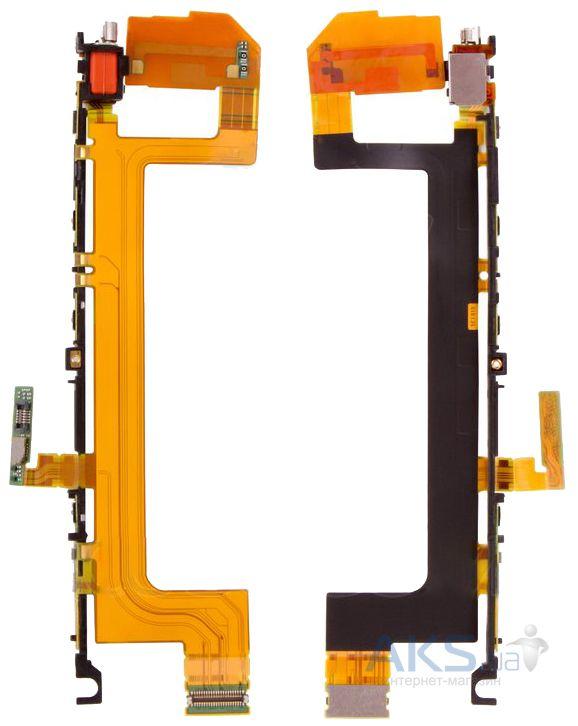 Шлейф Sony Xperia X F5121 / F5122 с кнопкой влючения кнопками регулировки громкости и кнопкой камеры — купить в Киеве и Украине