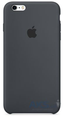 Чехол Apple Silicone Case for iPhone 6S Charcoal Gray (MKY02)