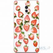 Чехол 1TOUCH Silicone Print Fruits Series Meizu M6 Note Strawberries