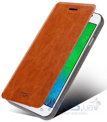 Чехол Mofi Leather Case HTC One M9 Brown