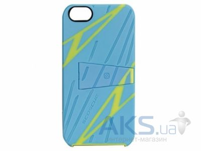 Чехол Scosche Kick Back Sport Apple iPhone 5, iPhone 5S, iPhone SE Blue/Yellow (IP5SPBLY)