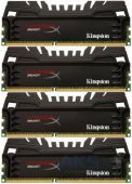 Оперативная память Kingston DDR3 32GB (4x8GB) 2400 MHz Beast (HX324C11T3K4/32)