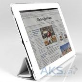 Чехол для планшета JustCase Leather Case For iPad 2/3/4 White (SS0003)