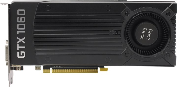 Видеокарта Zotac GEFORCE GTX 1060 Blower Cooler 6GB (ZT-P10600D-10B) BULK