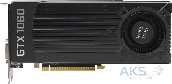 Видеокарта Zotac ZOTAC GEFORCE GTX 1060 Blower Cooler 6GB (ZT-P10600D-10B) BULK