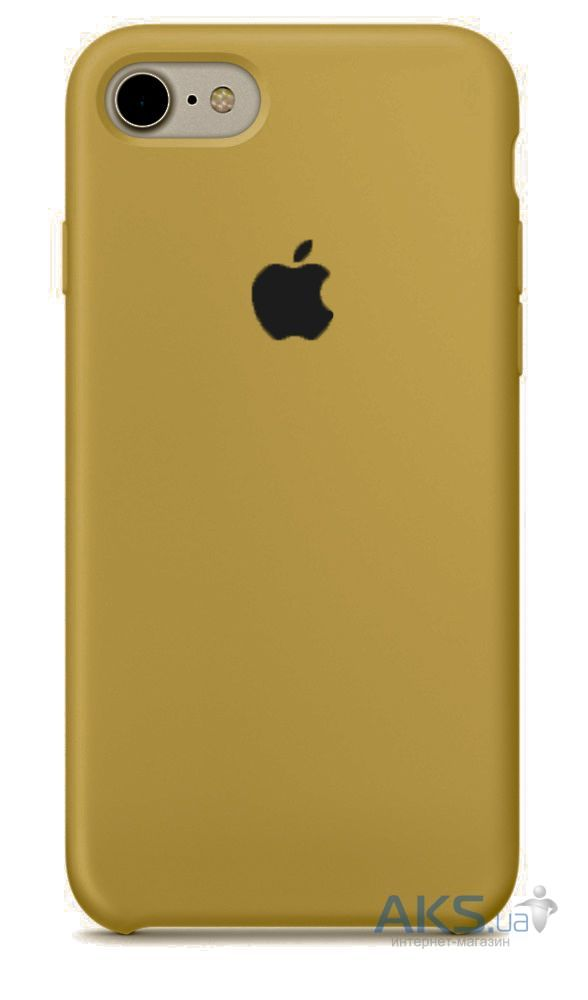 Чохол Apple Silicone Case iPhone 6, iPhone 6S Gold_HC