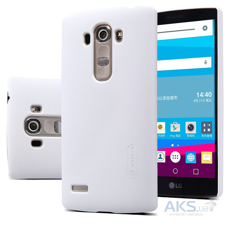 Чехол Nillkin Super Frosted Shield LG Optimus G4S H734, G4S H736 Dual White