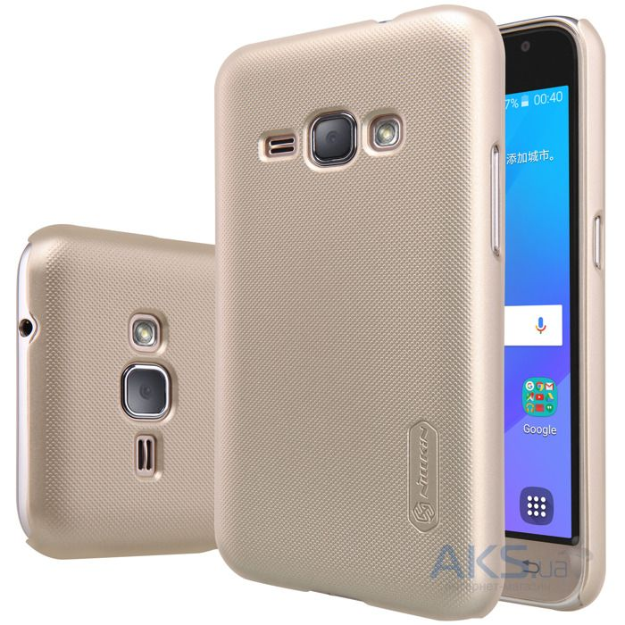 Чехол Nillkin Super Frosted Shield Samsung J120 Galaxy J1 2016 Gold