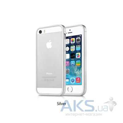 Чехол ITSkins Heat for iPhone 5/5S Silver (APH5-NHEAT-SLVR)