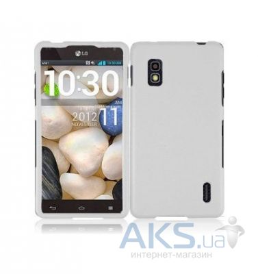 Чехол Plastic cover case for LG E970 Optimus G White