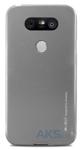 Чехол Mercury TPU Jelly Metal Series LG G5 H860, G5 SE H845 Silver