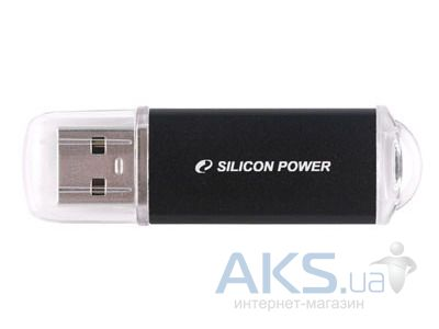 Флешка USB Silicon Power Ultima II I-series 8Gb (SP008GBUF2M01V1K) Black