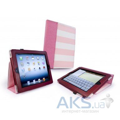 "Чехол для планшета Tuff-Luv Type-View ""Candy Rock"" case for iPad 2,3,4 Pink (E1_26)"