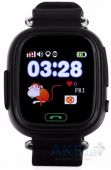 Умные часы Smart Baby Q100 GPS-Tracking, Wifi Watch (Black)
