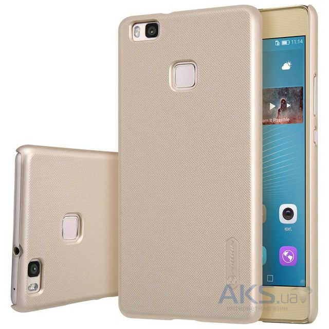 Чехол Nillkin Super Frosted Shield Huawei Ascend P9 Lite Gold