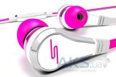 Наушники (гарнитура) SMS-Audio STREET by 50 Wired In-Ear Pink (SSMS-EB-PNK)