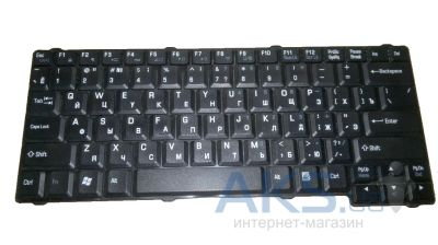 Клавиатура для ноутбука Toshiba Satellite L10,L15,L20,L25,L30,L100,L110,L120. RU, (MP-03263US-920) Black