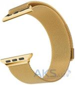Вид 3 - iBest Milanese Loop Band for Apple Watch 42mm Gold