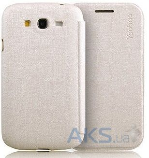 Чехол Yoobao Slim Leather case for Samsung i9082 Galaxy Grand Duos Silver (LCSAMI9082-SSV)