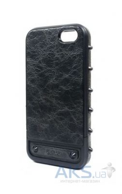 Чехол Lucien Elements Le Baron Leather Series Armor for iPhone 5/5S Black