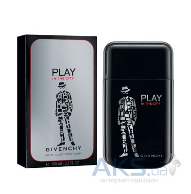 Givenchy Play In The City for Him Туалетная вода 100 мл