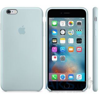 Чехол Apple Silicone Case for iPhone 6S Plus Turquoise (MLD12)