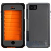 Вид 3 - Чехол OtterBox Armor Series Grey & Neon Apple iPhone 5, iPhone 5S, iPhone 5SE (77-25800) Orange