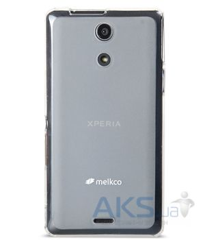 Чехол Melkco Poly Jacket TPU cover for Sony Xperia ZR M36h Transparent (SEXPZRTULT2TSMT)