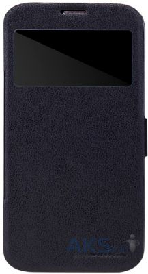 Чехол Nillkin Fresh Leather Series Samsung Galaxy Mega 6.3 i9200 i9205 Black
