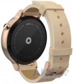 Вид 2 - Умные часы Motorola Moto 360 2nd Generation 42mm Stainless Steel with Rose Gold Leather Strap