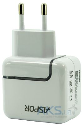 Зарядное устройство Aspor Portable Home Charger (2.1A) White (A818)