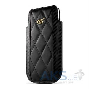 Чехол ITSkins Enzo Chronos for iPhone 5/5S Black/Gold (APH5-EZCHR-BKGD)