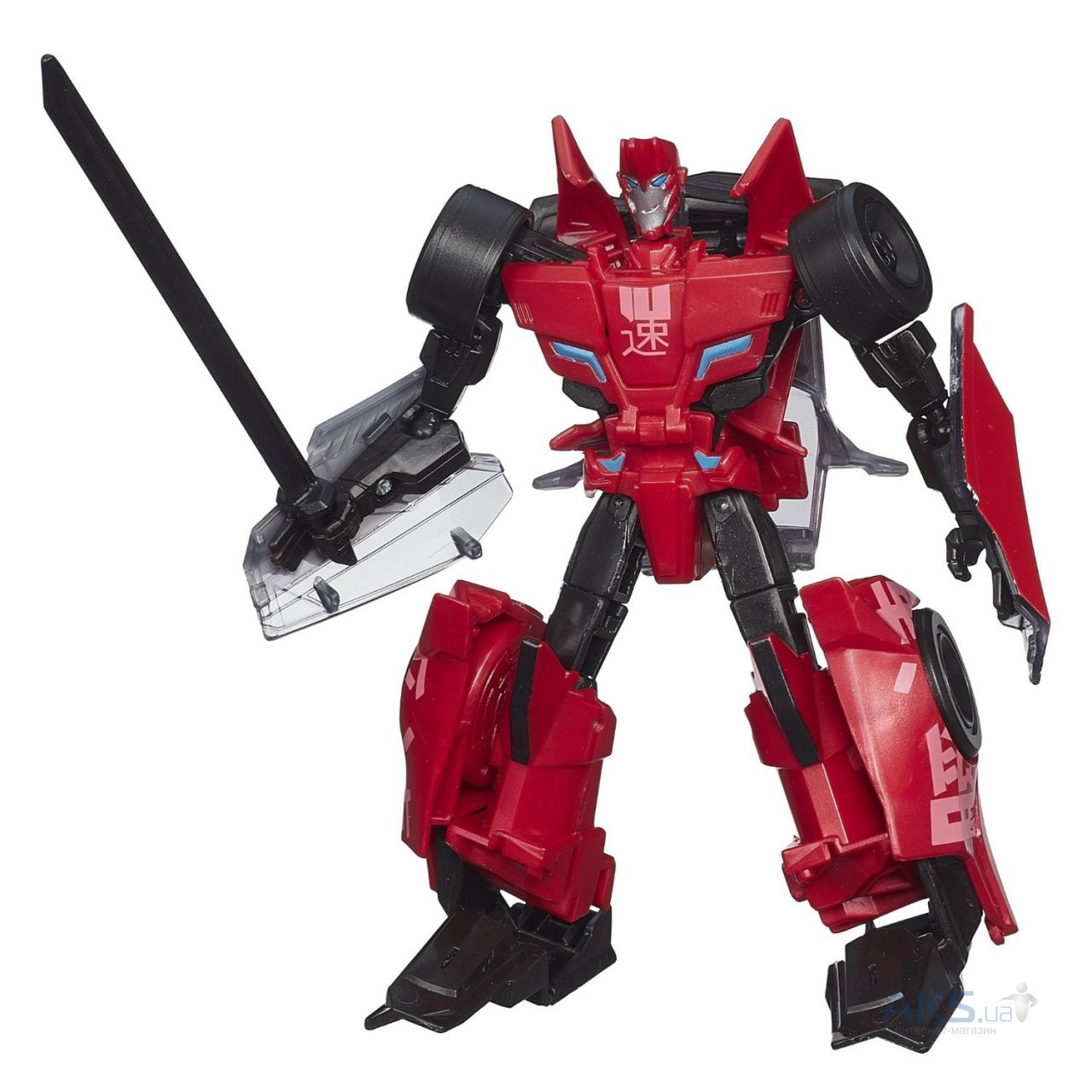 Трансформер Hasbro Трансформеры Robots In Disguise Warriors Sideswipe (B0070)