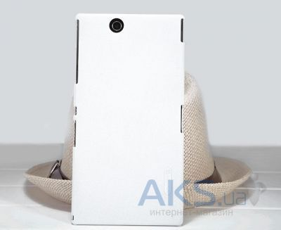 Чехол Nillkin Super Frosted Shield Sony Xperia Z Ultra XL39H C6802 White