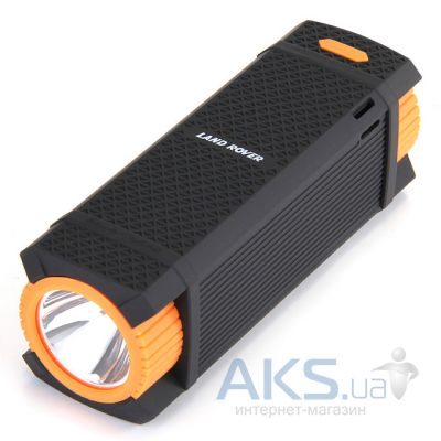 Внешний аккумулятор power bank Land Rover Discovery S5, 12000mAh Black/Orange