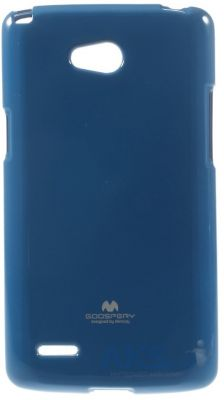 Чехол Mercury Jelly Color Series LG D380 L80 Dual Dark Blue