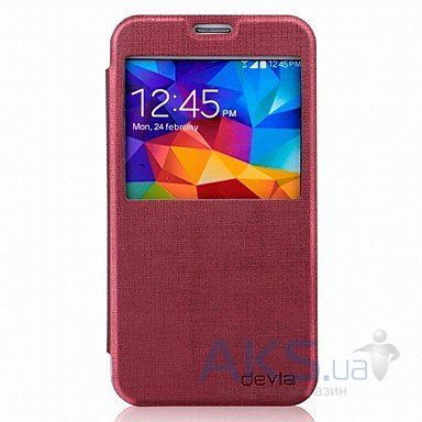 Чехол Devia Tallent Samsung G900 Galaxy S5 Red Wine