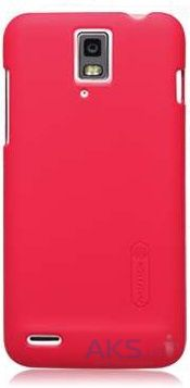 Чехол Nillkin Super Frosted Shield Huawei Ascend D1 Red