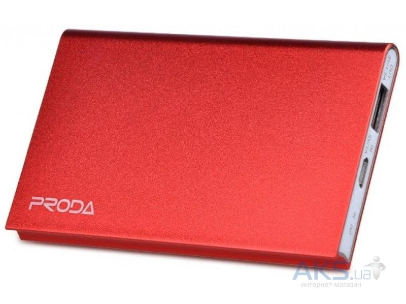 Повербанк power bank Remax Powerbox Proda Sky Book 4000 mAh Red